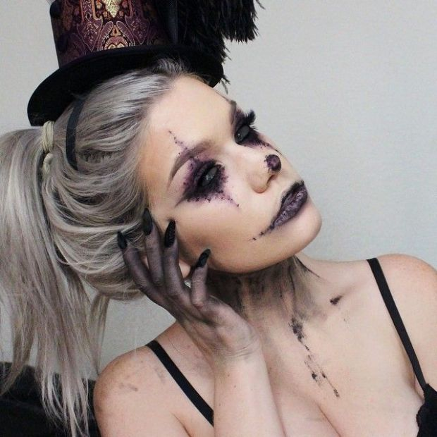 halloween-make up-fashion