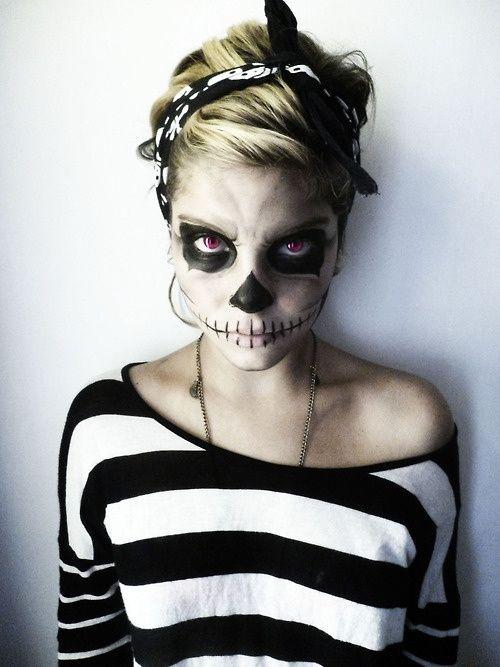 halloween-make up-scheletro-2015