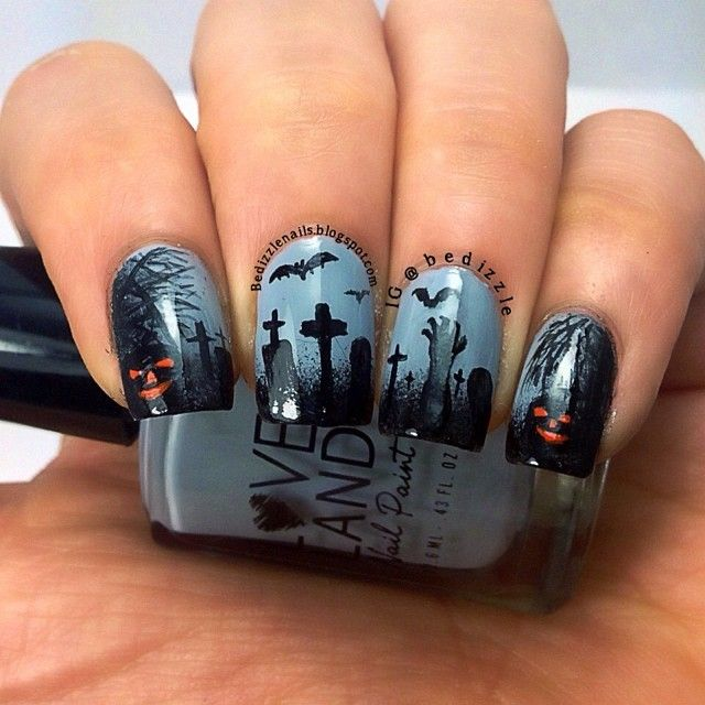 halloween-nails-2015