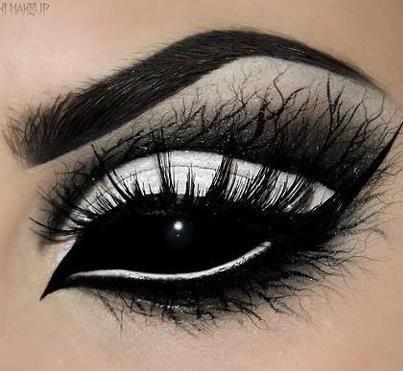 halloween-trucco-occhi-black