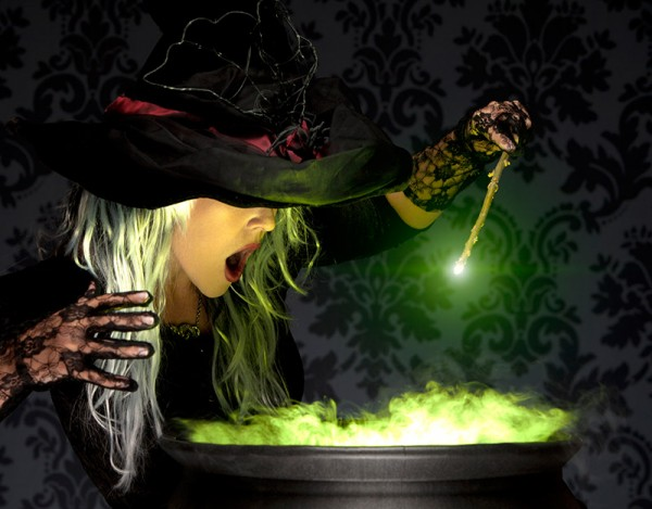 witch cooking