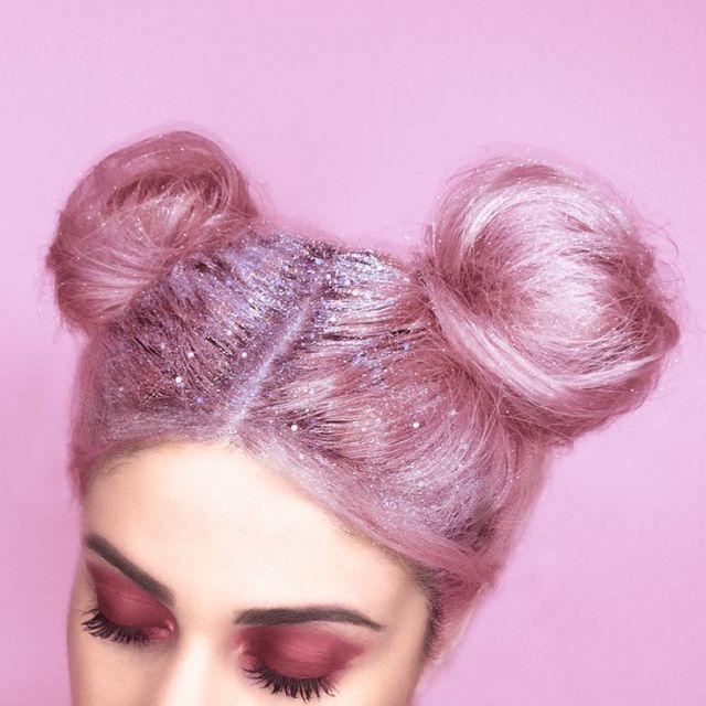 pink-glitter-hair