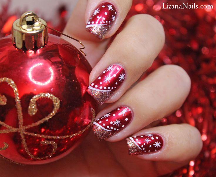christmas-red-nail
