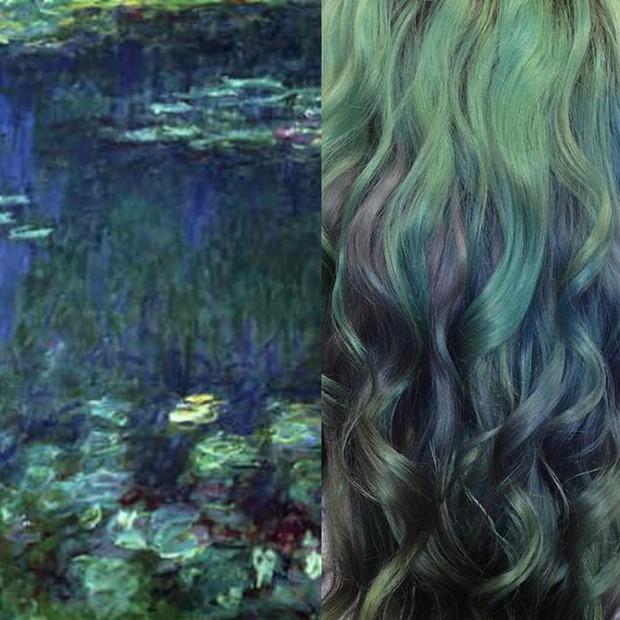 le -ninfe-capelli-monet