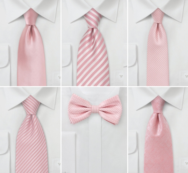 wedding-ties-rose-quartz