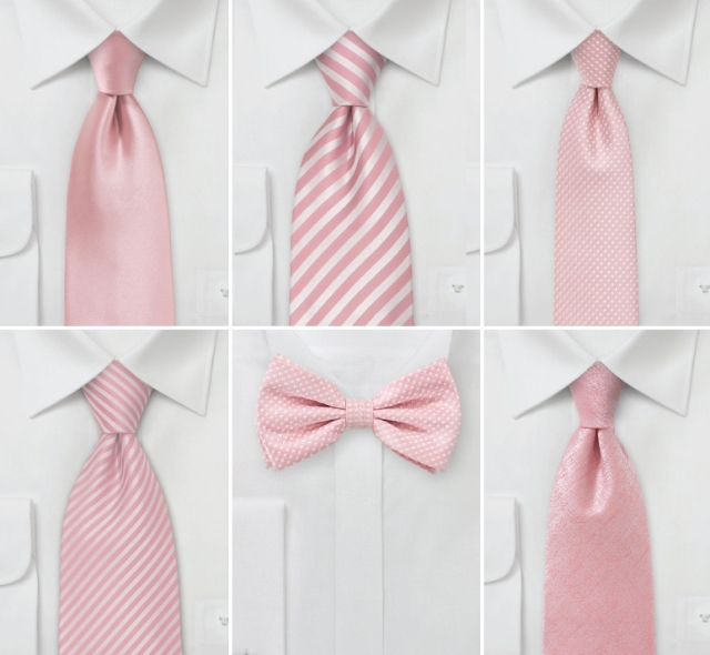 wedding-ties-rose-quartz
