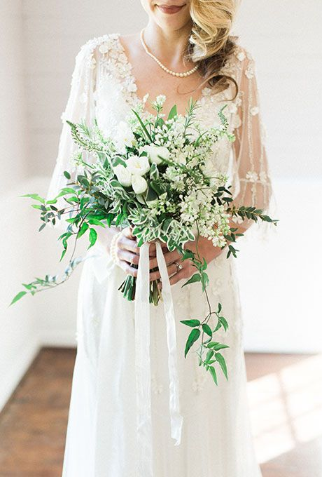 wedding-bouquet-greenery