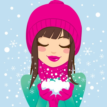 woman-in-the-snow